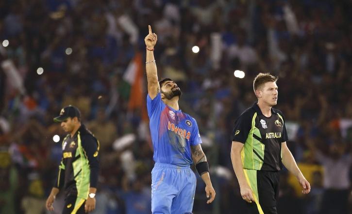 Virat Kohli India Vs Australia World T20