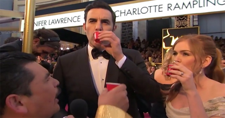 Guillermo Rodriguez At Oscars Red Carpet