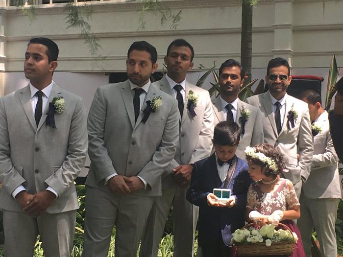 Irfan Pathan (right corner)