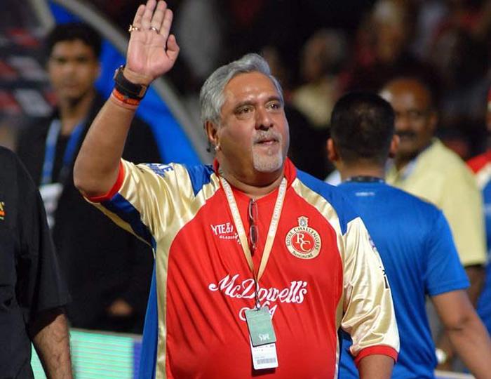 RCB intimates BCCI about Vijay Mallya