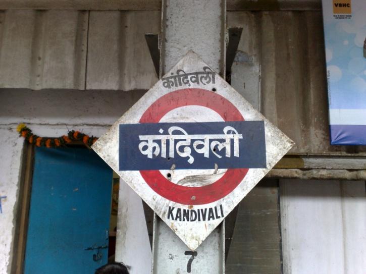 Kandivali train station