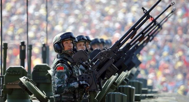 Chinese army guns