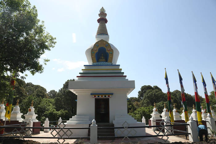 A Buddhist Stupa dedicated to Veteran Actor Kabir Bedi's Mom in Himachal Pradesh