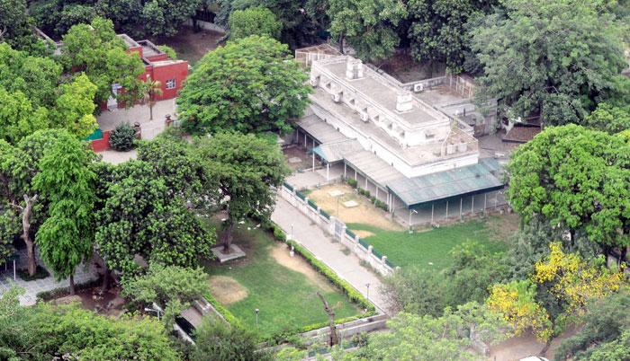 Lutyen's zone in Delhi
