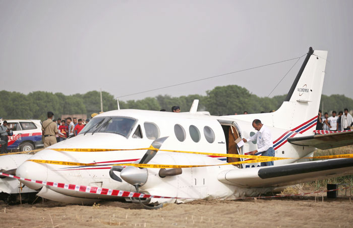 Air ambulance crashes