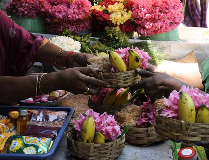 Plastic Ban Is Driving The Cost Of Poojas High In Bengaluru