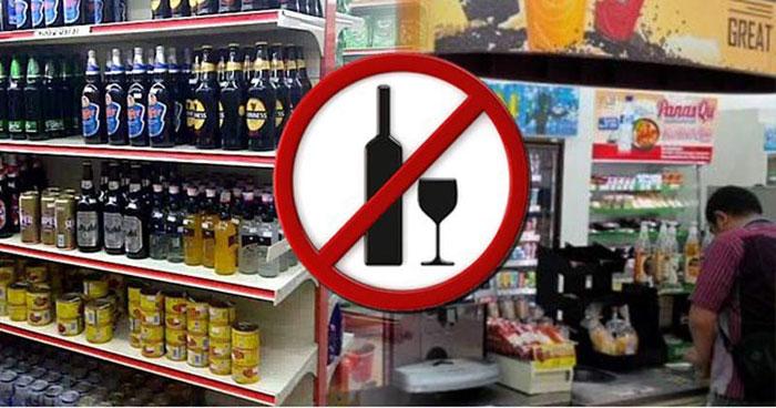 Liquor ban