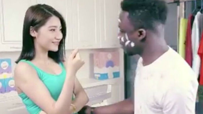 Chinese firm behind racist detergent