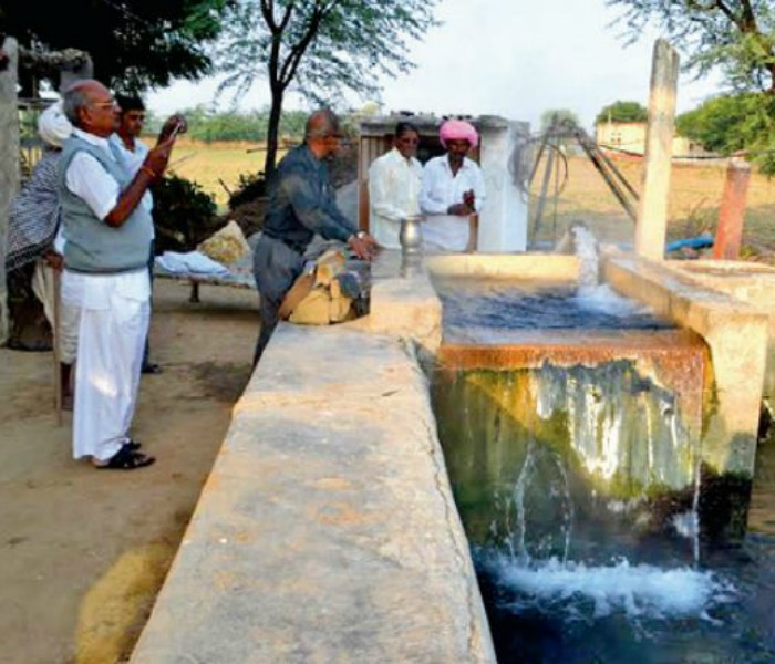 First in Rajasthan! Rare hot water well found in village near Pali