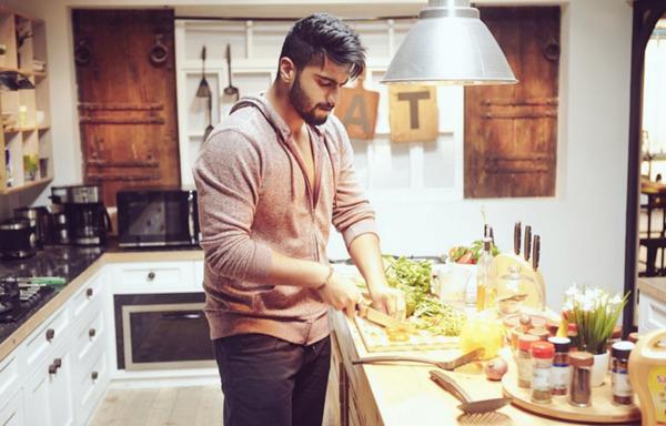arjun kapoor cooking