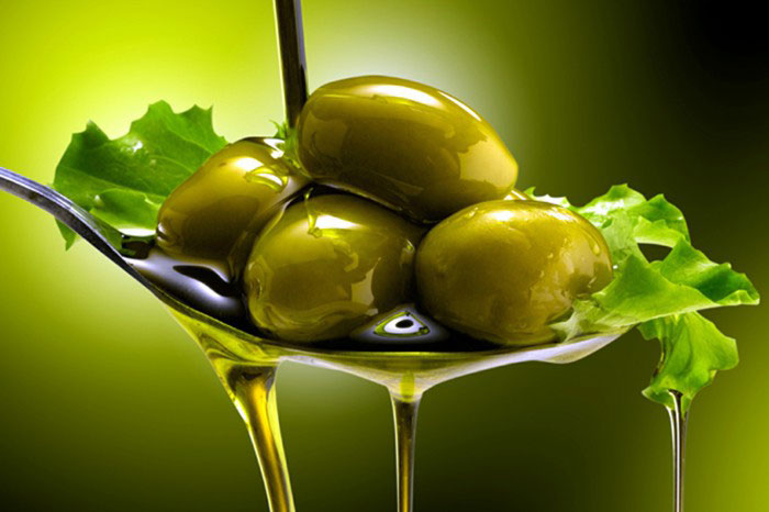 Cooking in olive oil