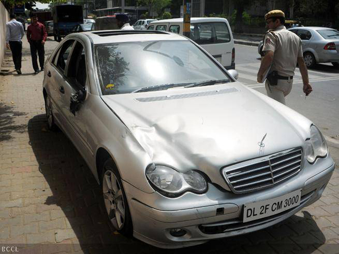 Delhi Mercedes Hit-And-Run: Juvenile Driver To Stay Behind Bars As Court Rejects His Bail Plea