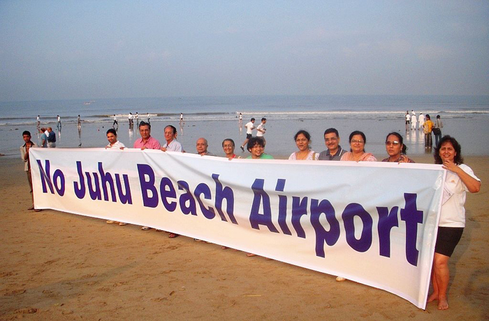 Airport Authority Of India Stops Beautification Works At Juhu, Claims The Beach Is Part Of Its Expansion Plans  mumbaimirror