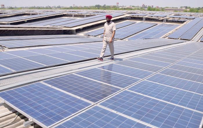 Largest Solar Rooftop Plant