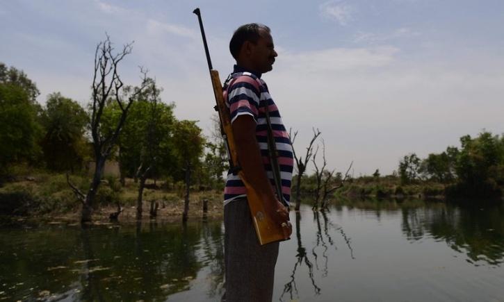 Water MP armed men