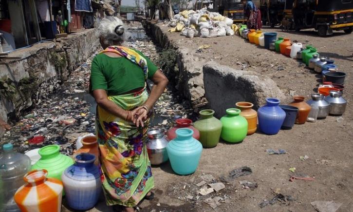 Water shortage india