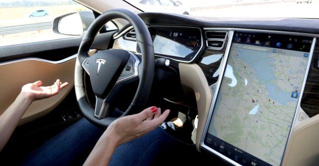 tesla driverless