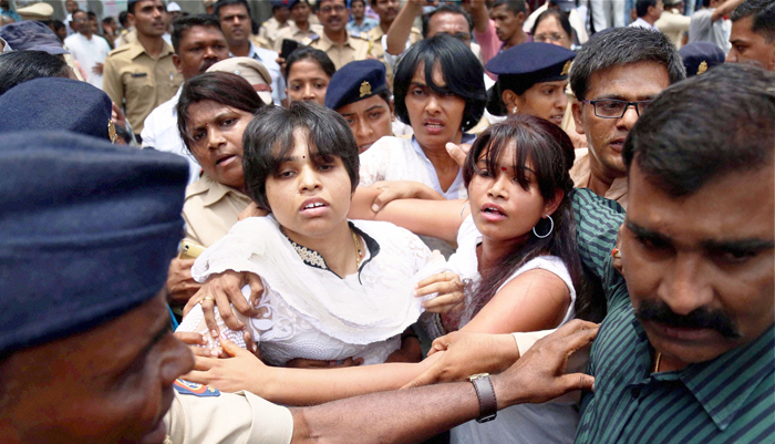 Activist Trupti Desai Hospitalised In Nashik After Being Attacked