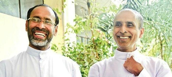 Bishop Jacob and Fr Chiramel