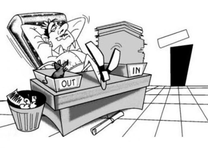 Babus Start Working Because Pm Modi Is Keeping An Eye On You
