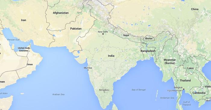 Companies Like Google Showing Wrong Map Of India Won
