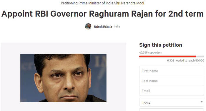 44,000 People Have Voted For Raghuram Rajan To Have A Second Term As RBI Governor
