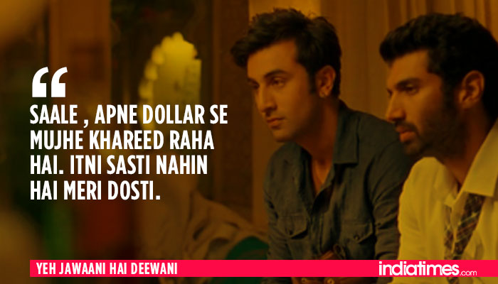 Jawaani deewani dialogues by deepika hai yeh Yeh Jawaani