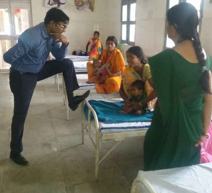IAS Officer Caught Resting His Foot On Patient