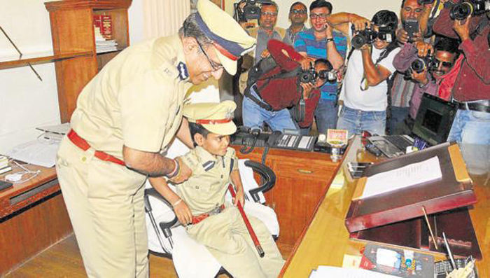 Boy Who Was Made Jaipur Top Cop For A Day Dies