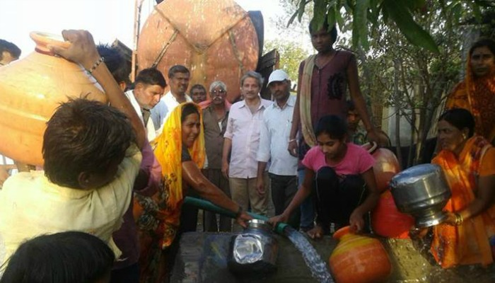 NGO Manages To Dispatch 54 Lakh Litres Of Water To Drought Struck Village