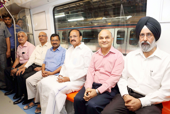 Delhi Metro Conducts First Test-Drive Of First Driverless Trian