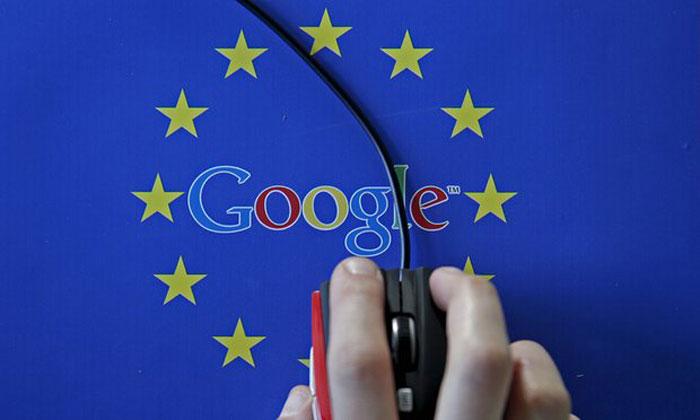 Google faces record three billion euro EU antitrust fine