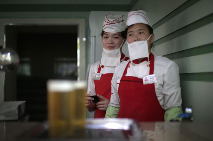 For Tired Pyongyang Workers, Beer