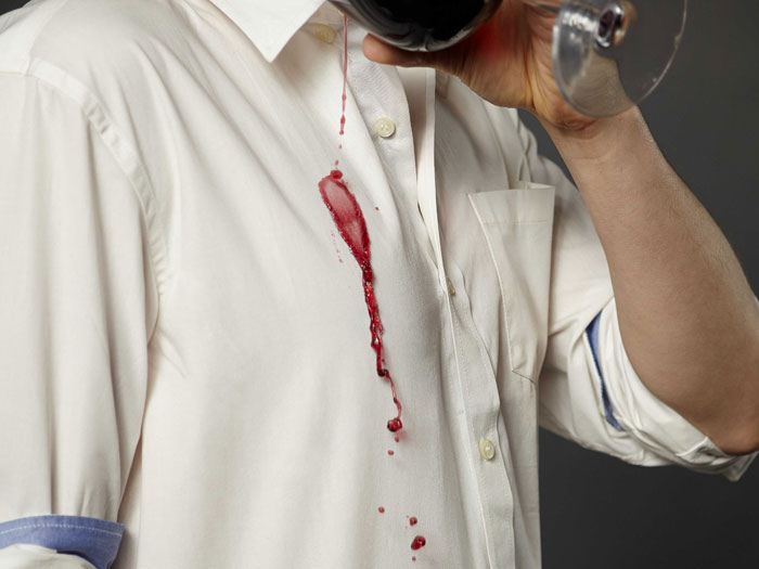 Stain on your shirt?