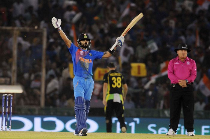 And then there is Virat Kohli