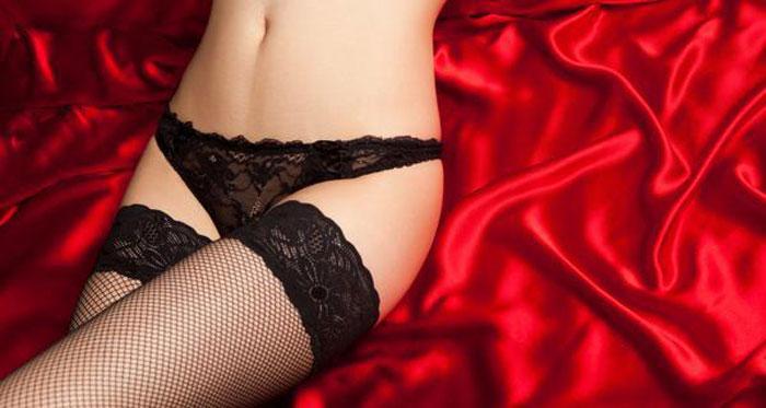 Lacy lingerie