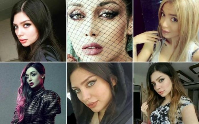 Iran arrests models