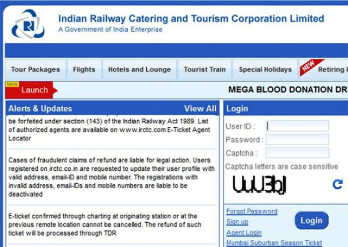 Startup Tells Rail Ministry Suresh Prabhu Exactly How IRCTC Site Was Hacked