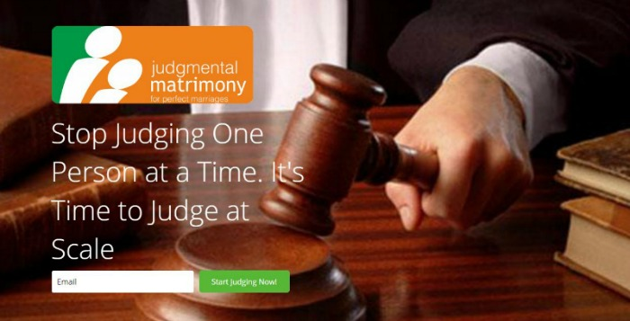 Judge all you want
