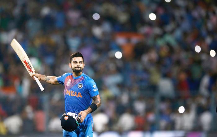 Kohli hits century