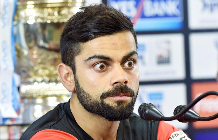Kohli surprised