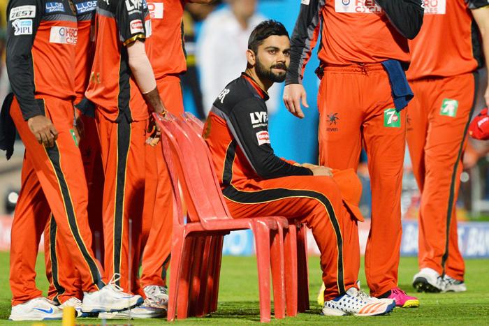 Kohli sits