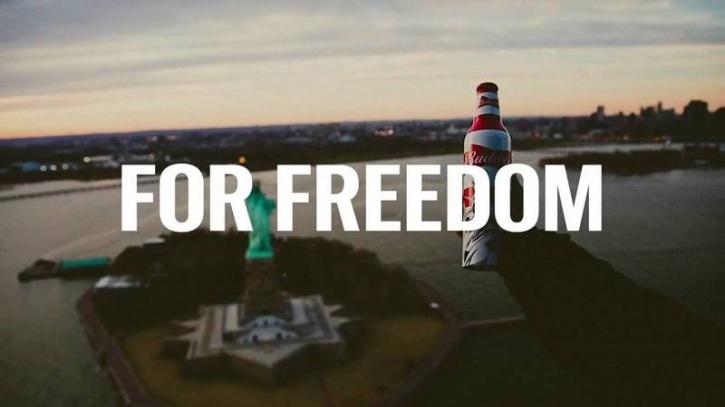 Budweiser America freedom ad