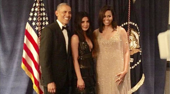 Priyanka Chopra Obama