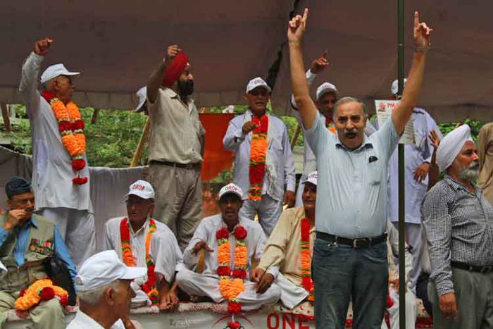 Army Veterans Who Returned Their Medals Demanding OROP Now Want Them Back