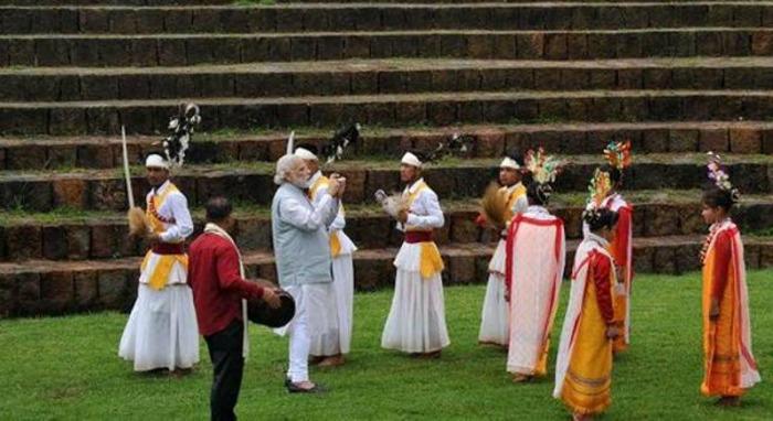 Modi in Meghalaya