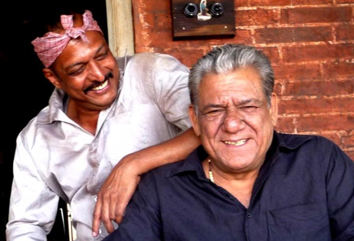 Nana Patekar and Om Puri
