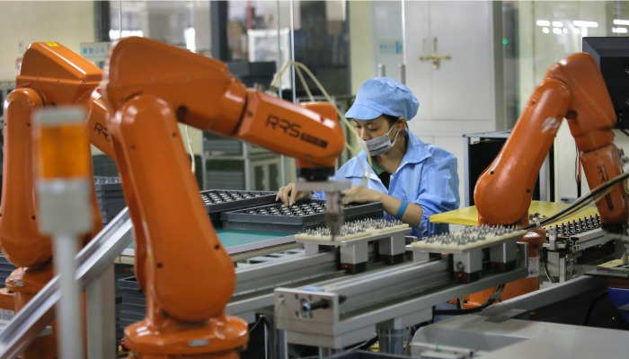 Iphone maker foxconn has replaced 60,000 workers with a robot army!