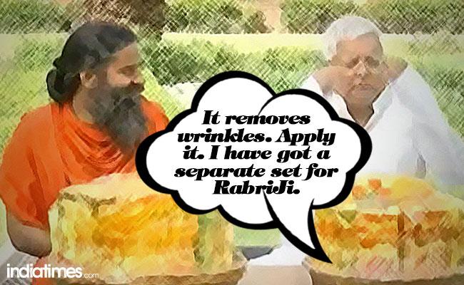 Lalu and Ramdev