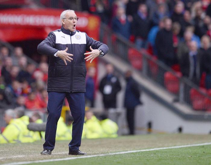 Leicester City coach Claudio Ranieri